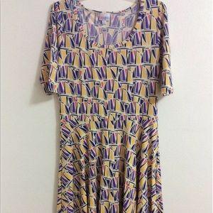 LuLaRoe Nicole Dress XL NWOT